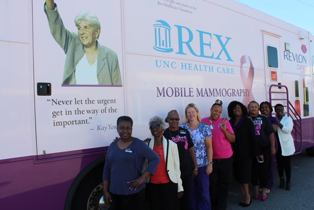 You are browsing images from the article: Rex Mobile Mammography at Sherri's Crowning Glory