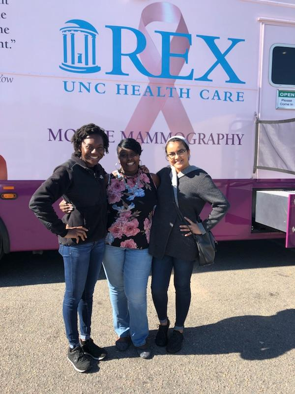 You are browsing images from the article: Mobile Mammography at Sherri's Crowning Glory