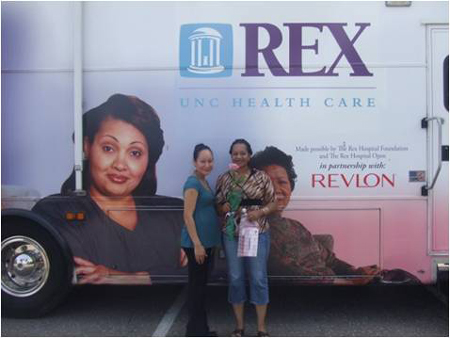 You are browsing images from the article: Rex Mobile Mammography